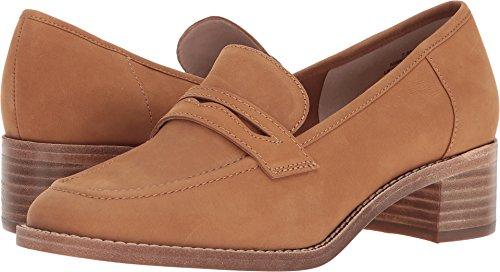Nove West Womens Kimmy 40th Anniversary Dark Nubuck Naturale