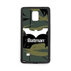 Samsung Galaxy Note 4 Cell Phone Case Black Batman Bat Logo Green & Black L2G8LG
