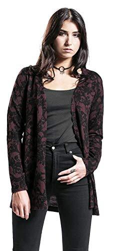 By Rouge Rage Cardigan Foncé Black The Premium Emp All qwx5WnSC1v