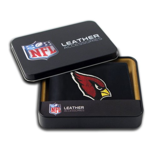 NFL Arizona Cardinals Embroidered Genuine Leather Billfold