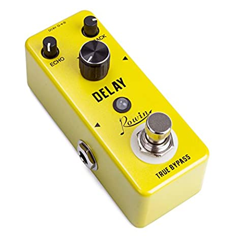 Beaspire Yellow Fall Vintage Pure Analog Delay Effects Guitar Effect Pedal True Bypass Musical Instrument Parts for Electronic Guitar and (Cable De Guitarra Fender)