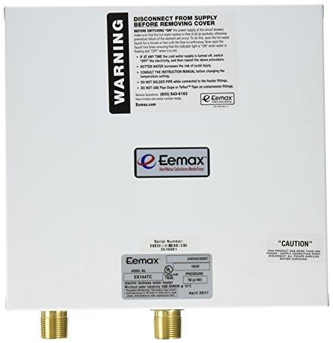 EEMAX EX144TC Electric Tankless Water Heater, 240VAC