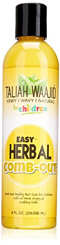 Taliah Waajid Kinky Wavy Natural Easy Herbal Comb Out, 8 -