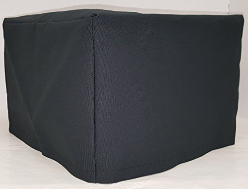 Canvas Toaster Cover (15 Colors Available) (4-Slice, Black)