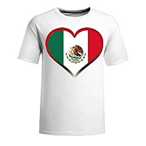Brasil 2014 FIFA World Cup Theme Short Sleeve T-shirt,Football Background Mens Cotton shirts for Fans white