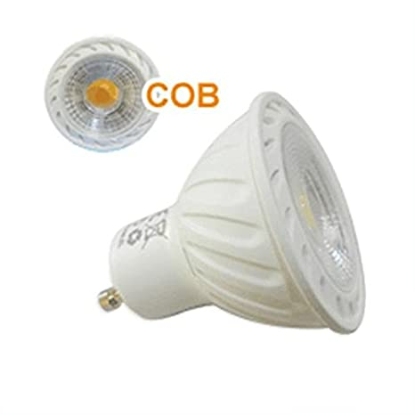 BOMBILLA LED COB GU10 6,5W LUZ BLANCA FRÍO/DÍA: Amazon.es: Bricolaje y herramientas
