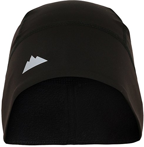 Tough Headwear Skull Cap/Helmet Liner/Running Beanie - Ultimate Thermal Retention and Performance Moisture Wicking. Fits under Helmets - Stretch Winter Cap