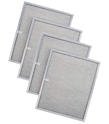 (Nispira Replacement Range Hood Grease Filter Compatible with Broan QS1 and WS1. Compared to BPS1FA36. 4 Filters)