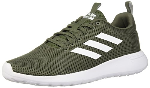 (adidas Men's Lite Racer CLN Running Shoe, Base Green/White/Black, 13 M US )