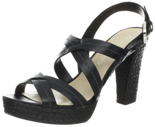 Sandalo Nero Indio Donna Franco Sarto
