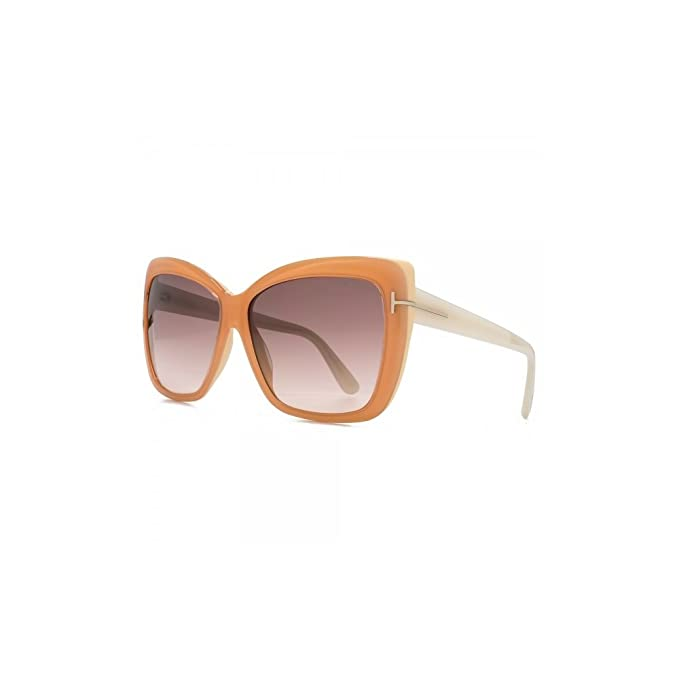 Tom Ford Sonnenbrille Irina (59 mm) Orange 67ocx