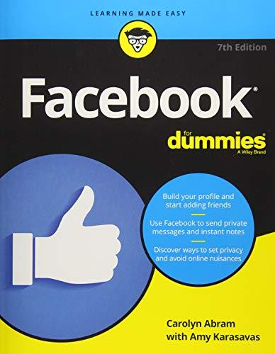 412PeG5Qi4L - Facebook For Dummies