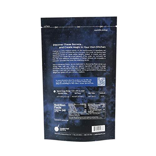 Super Agar Powder (Molecular Gastronomy) ⊘ Non-GMO ☮ Vegan ✡ OU Kosher Certified - 400g/14oz by Modernist Pantry (Image #1)