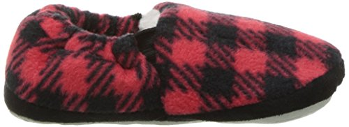 Stride Rite Boy's Hunter Buffalo Plaid A Line Slipper Shoe, Red, 9/10 M US Toddler - Image 7