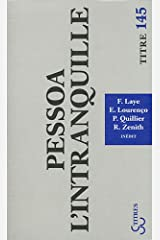 Pessoa l'intranquille (TITRES) Paperback