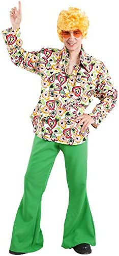DISBACANAL Disfraz de Hippie Hombre - -, XXXL: Amazon.es: Juguetes ...