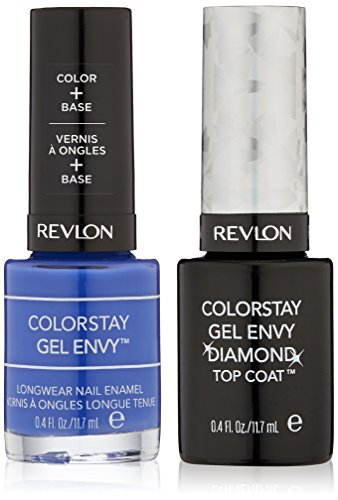 (Revlon ColorStay Gel Envy Value Packs, Wild Card + Top Coat)
