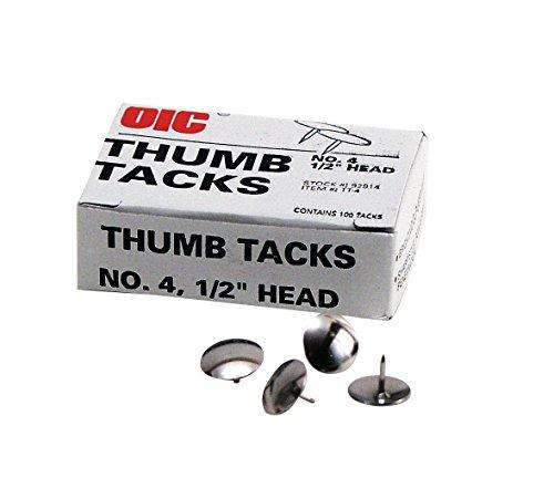 OIC92914 - Officemate OIC Thumb Tacks ()