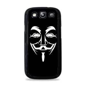 708 Guy Fawkes Mask Samsung Galaxy S3 Hardshell Case - Black