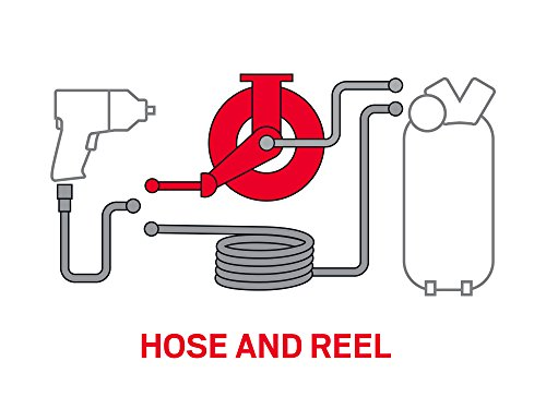 TEKTON 50-Foot by 3/8-Inch I.D. Dual Arm Auto Rewind Air Hose Reel (250 PSI) | 46875 by TEKTON (Image #9)
