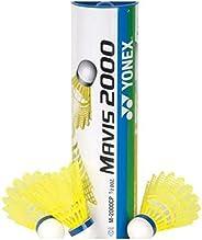 YONEX Mavis 2000 Nylon Tournament Shuttle-Yellow (1/2 Dozen)