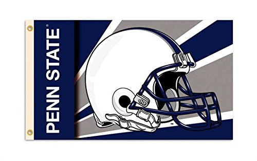 Nittany Lion Store - College Sports Fan Premium Team Helmet 3'x5' Flag Banner (Penn State Nittany Lions)