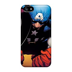 Iphone 5/5s Cases, Premium Protective Cases With Awesome Look - Captain America Avenger