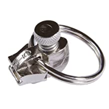 Fixnzip MNZS58 Nickel Replacement Zipper Slider, Small