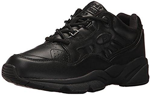 Propet Mens Stabilità Walker Shoe Nero 10,5 X (3e) E Oxy Pulitore Bundle