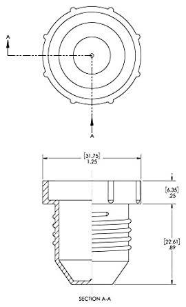 PD-120 Pack of 100 Caplugs 99391186 Plastic Threaded Plug for Flared JIC Fittings to Plug Thread Size 1 1//16-12 Caplugs Inc. Red to Plug Thread Size 1 1//16-12 PE-LD
