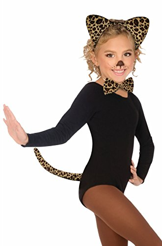 Plush Leopard Child Costumes Kit (Plush Leopard Animal Child Costume Kit)