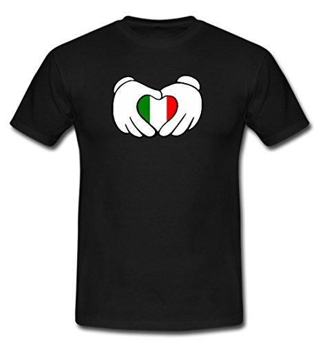 Trikot Italien Fußball Fan T Shirt Europameisterschaft Weltmeisterschaft