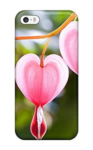 Perfect Fit HLUsnEa8852gwijq Cute Flowers Heart Case For Iphone - 5/5s