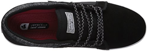 DVS Homme Suede de Shoes Aversa Chaussures Noir 018 Black Skateboard rwqr816X