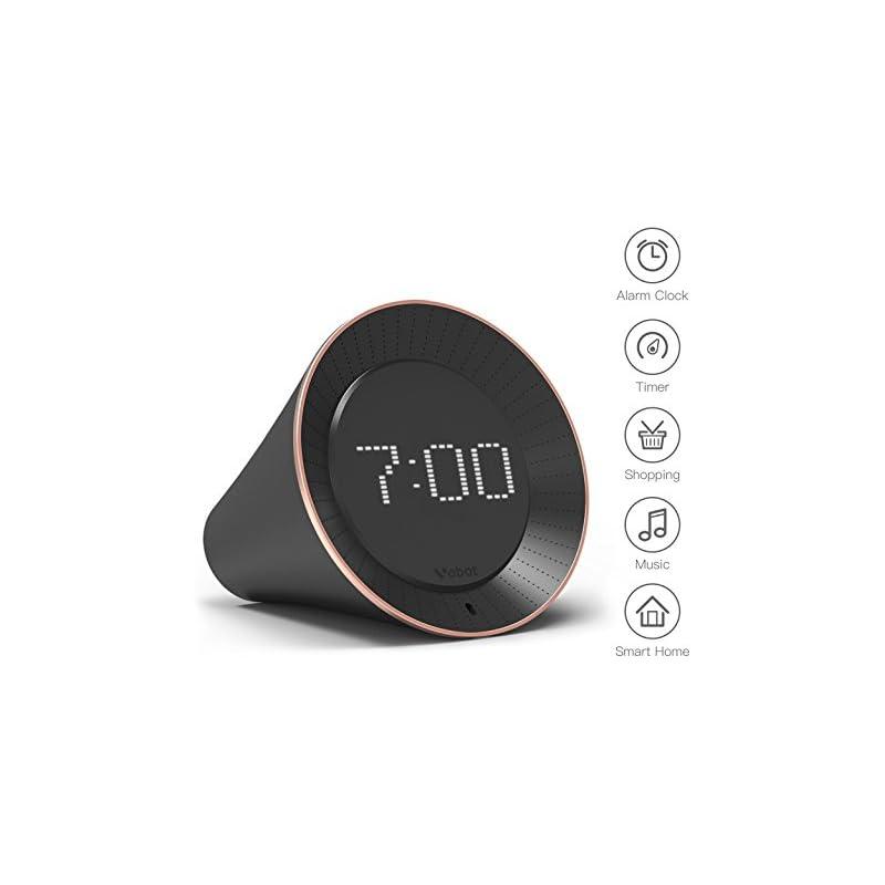 Vobot Smart Alarm Clock with Amazon Alex