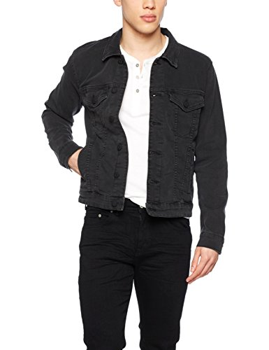 Only & Sons, Chaqueta para Hombre Negro (Black)