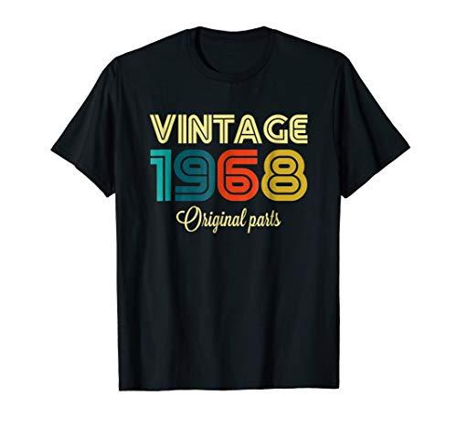 Vintage 1968 Funny Original Parts 51st Retro Gift T-shirt ()
