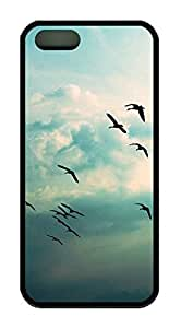 Be Free Birds Theme Iphone 5 5S Case TPU Material by Maris's Diary