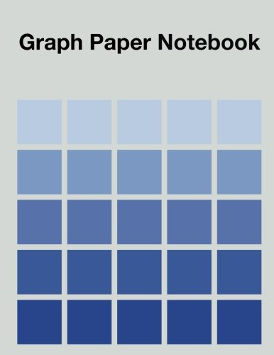 Graph Paper Notebook: 120 Pages - 1/2 Inch Square Pattern ()