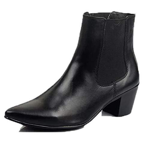 Stivaletti in Casual Shoes da Scrub Vera Martin Uomo Black1 Business Chukka Pelle Stivaletti Stivali fxEwCTwq