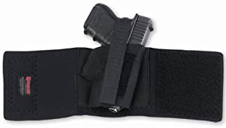 product image for Galco Cop Ankle Band Compatible with Glock 26/27/31, Sig Sauer P239, 1911 3-Inch (Black, Left-Hand)