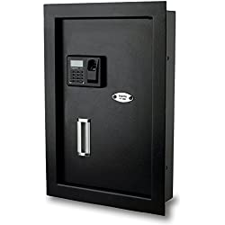 Viking Security Safe VS-52BLR Hidden Wall Biometric Safe Fingerprint Safe