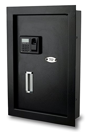 Viking Security Safe VS-52BL Biometric Fingerprint Hidden Wall Safe
