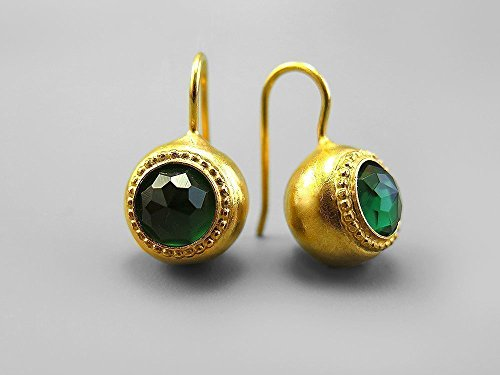 cubic-zirconia-gold-drop-earrings-for-women-round-faceted-green-tourmaline-swarovski-crystals-octobe