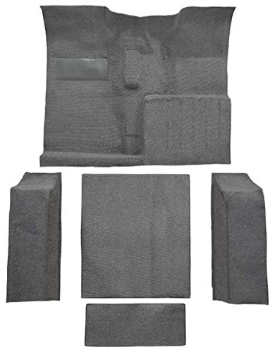1955 to 1973 Jeep CJ-5 Carpet Custom Molded Replacement Kit, Complete Kit (558-Charcoal 80/20 Loop)