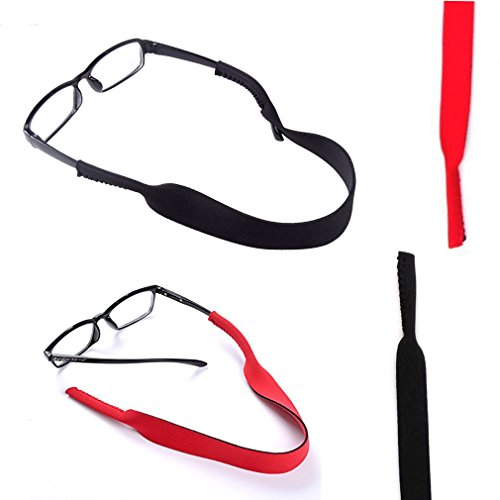 N2N Sunglass Straps -Adjustable Eyewear Retainer - Durable & Soft - Designed with Floating Neoprene Material - keep your glasses and eyewear safety.(2Pack - Locations Eyewear