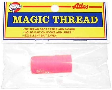 アトラスマイクの66015Magicスレッド(1スプール/バッグ、ピンク