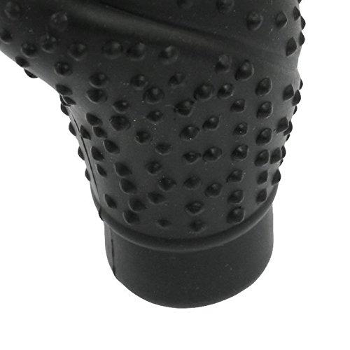Nonslip Soft Silicone Truck Car Gear Shift Knob Cover Black
