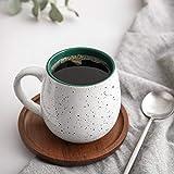 LIFVER 20 Ounces Coffee Mugs, Large Porcelain Mug