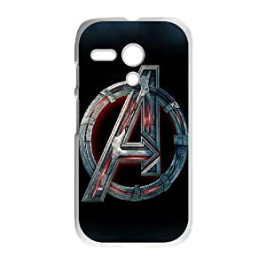 Motorola Moto G Phone Case White The Avengers Logo BFG571250